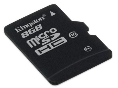 Cartão de Memória Kingston SDC10 Micro SDHC 8GB Classe 10 + Adaptador SD