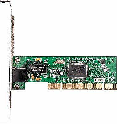 Placa de Rede Tp-Link PCI de 10/100Mbps TL TF-3200