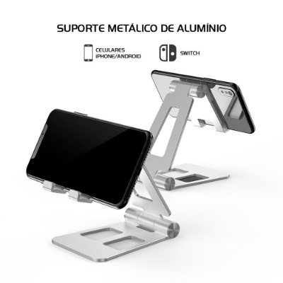 Suporte Base Gamesir Playstand Dobrável e Ajustável Para Switch / iPhone / Android
