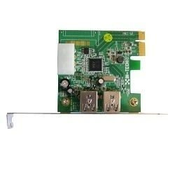 Placa PixelView PCI-E com 2 portas USB 3.0 - PV-VIA800-F