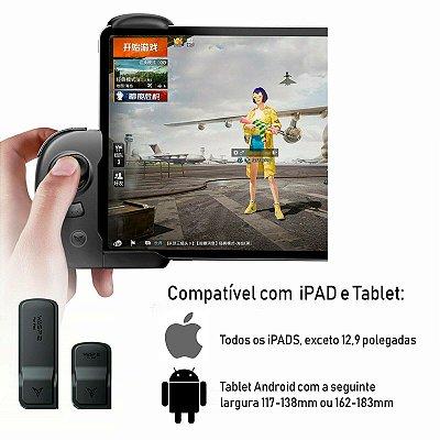 Controle Flydigi Wasp 2 Bluetooth Edição iPad iOS / Tablet Android PUBG Freefire
