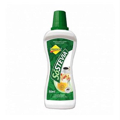 Adoçante Só Stevia - 80ml - Lowçucar