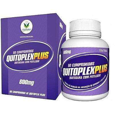 Quitoplex Plus (quitosana com psyllium) - 60 comprimidos - Vital Natus