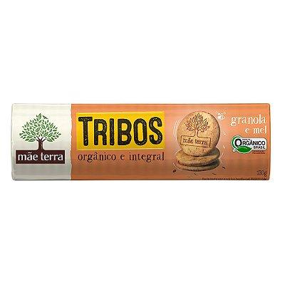 Biscoito Orgânico e Integral Tribos (Granola e Mel) 130g - Mãe Terra