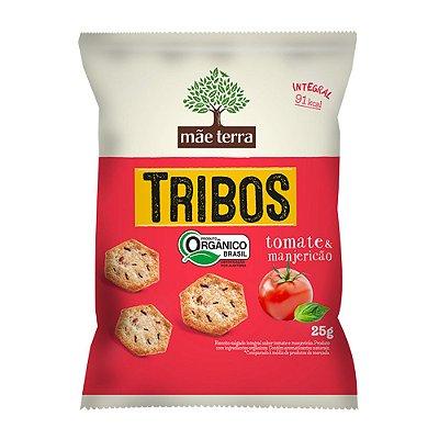 Biscoito Orgânico e Integral Tribos (Tomate e Manjericão) 25g - Mãe Terra