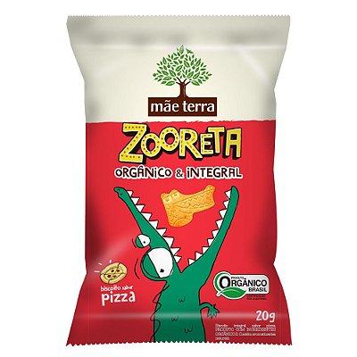 Biscoito Orgânico e Integral Zooreta (Pizza) 20g - Mãe Terra