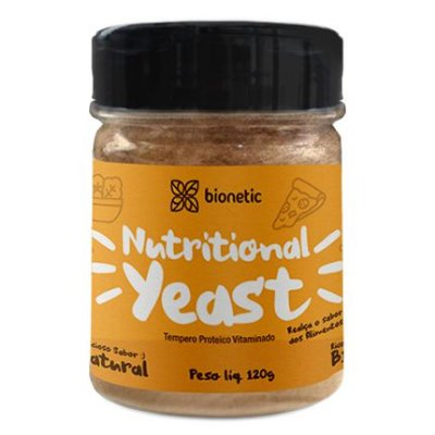 Nutritional Yeast - Tempero Proteico Vegano (sabor Natural) 120g - Bionetic
