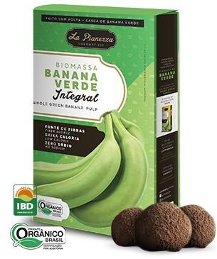 Biomassa de Banana Verde (Integral) 250g - La Pianezza