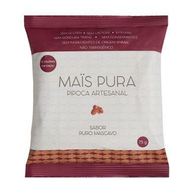 Pipoca Artesanal (Puro Mascavo) 75g - Maïs Pura