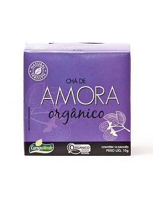 Chá de Amora c/ 10 sachês (Orgânico) 10g - Campo Verde