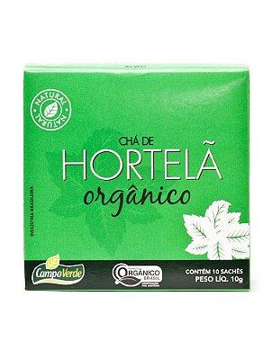 Chá de Hortelã c/ 10 sachês (Orgânico) 10g - Campo Verde