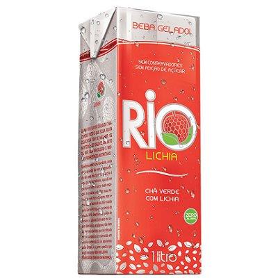 Chá Verde com Lichia (Zero Calorias) 1 litro - Rio