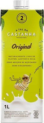 Leite Vegetal de Castanha de Caju - 1 litro - A Tal da Castanha