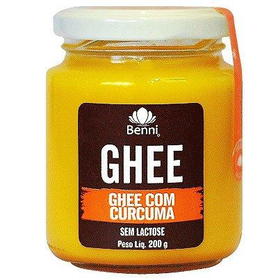 Ghee com Cúrcuma (Sem Lactose) 200g - Benni
