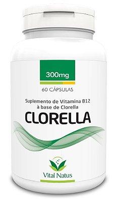 Clorella - 60 Cápsulas (300mg) - Vital Natus
