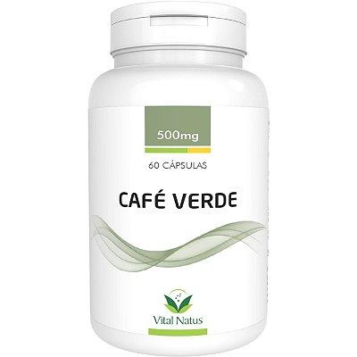 Café Verde - 60 Cápsulas (500mg) - Vital Natus