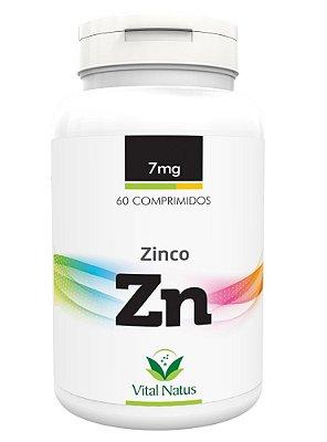 Zinco - 60 Cápsulas (7mg) - Vital Natus