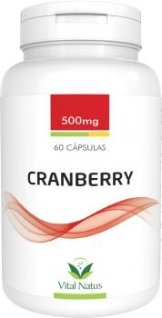 Cranberry - 60 Cápsulas (500mg) - Vital Natus