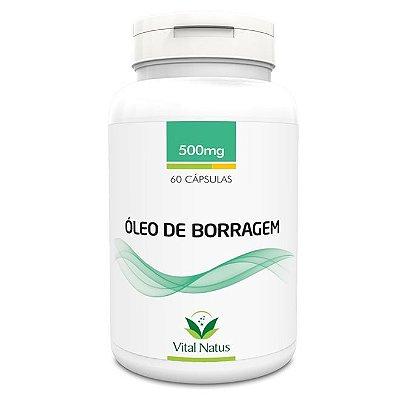 Óleo de Borragem - 60 Cápsulas (500mg) - Vital Natus