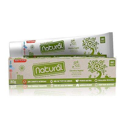 Creme Dental Natural e Vegano com extratos de Uva, Melissa e Camomila 80g - Contente Suavetex