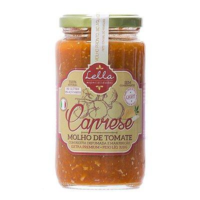 Molho Italiano de Tomate Caprese - 320g- Lella