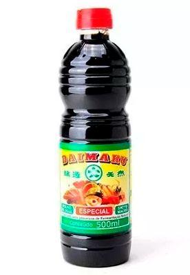 Shoyu Macrobiótico Daimaru - Molho de Soja Fermentação Natural - 500ml