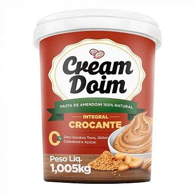 Pasta de Amendoim Cream Doim Crocante (1,005Kg) - Cocada Itapira