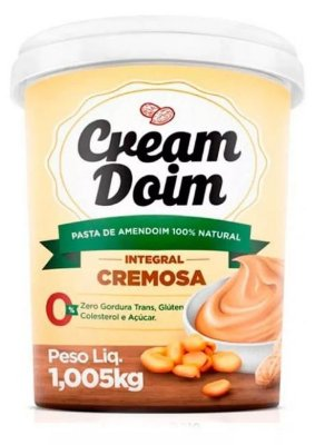 Pasta de Amendoim Cream Doim Cremosa (1,005Kg) - Cocada Itapira