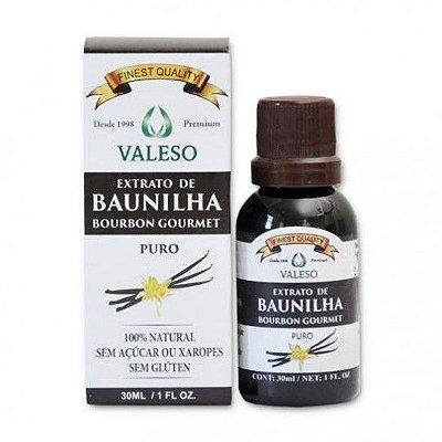 Extrato de Baunilha - 30ml - Valeso