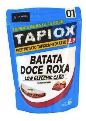 Tapiox - Batata Doce Roxa - LowCarb - 400g