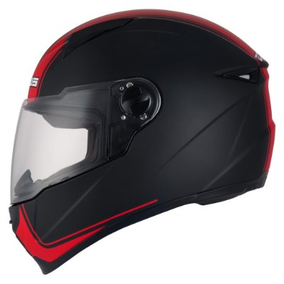 Capacete Zeus 811 EVO MATT BLACK / J17 TOURING RED