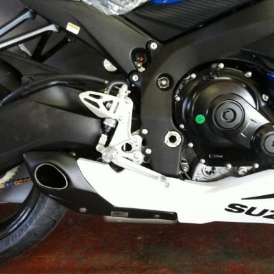 Escapamento Esportivo Suzuki GSXR Srad 750 (2014) Willy Made
