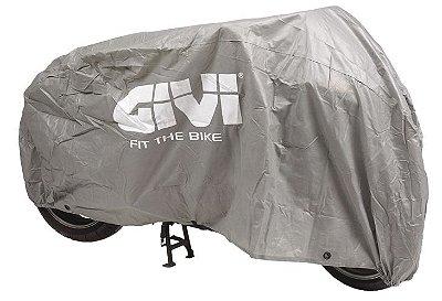Capa universal para motocicleta. Cor: cinza claro  Givi (não é a prova de água)