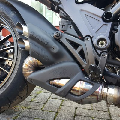Escapamento Esportivo Ducati Diavel Willy Made Firetong
