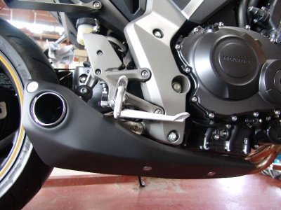 Escapamento Esportivo Honda CB 1000R Firetong Willy Made