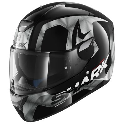 Capacete Shark SKWAL LED TRION CHROME KUA (Led Branco)
