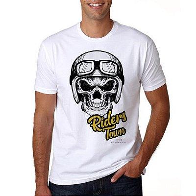 Camiseta Caveira Riders Town - PRÉ-VENDA