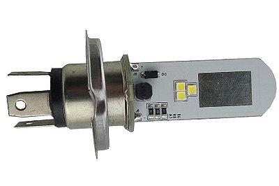 Lâmpada de LED H4 de Farol Moto AC/DC Universal