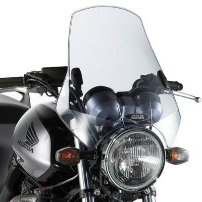 Parabrisa universal motos naked Givi A-660 Fumê