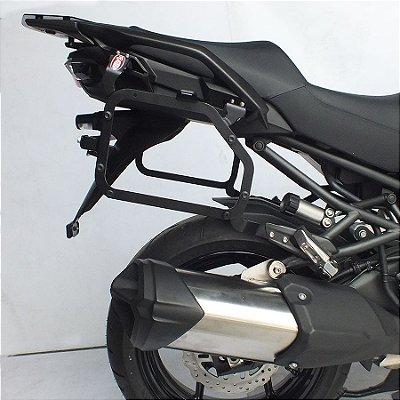 Suporte de Bau Lateral Kawasaki Versys 1000 (2015 em diante) SCAM