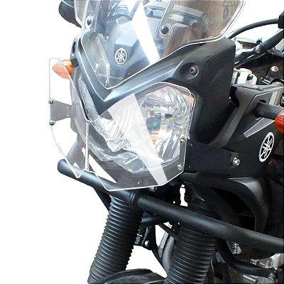 Protetor de Farol Yamaha TENERE 250 em Policarbonato SCAM