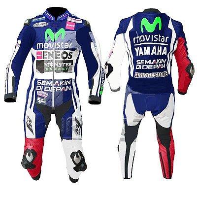 Macacão de Corrida Yamaha - Jorge Lorenzo (feito sobre medida)