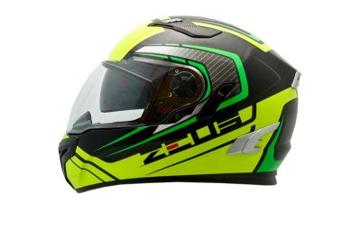 Capacete Zeus 813 AN15 SOLID BLACK GREEN