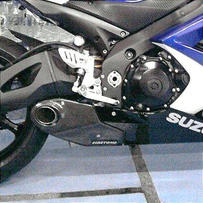Escapamento Esportivo Suzuki GSXR 1000 (08/10) Willy Made Firetong