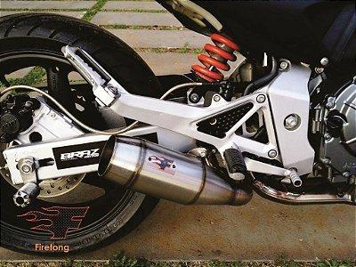 Escapamento Esportivo Honda Hornet (05/07) Flame Firentong