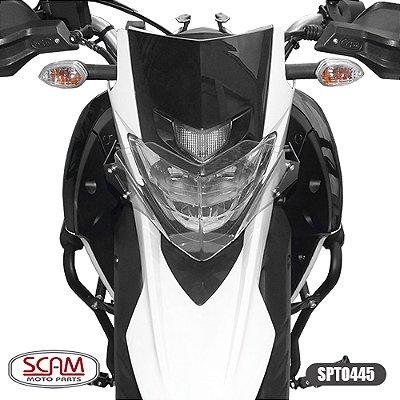 Protetor Farol Polic. Yamaha Lander250 2019 + Scam