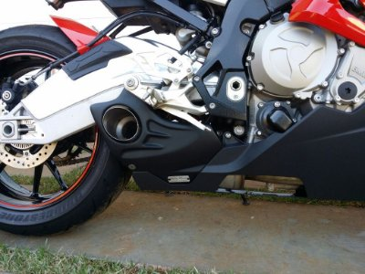 Escapamento Esportivo BMW S1000RR Willy Made 2015 em diante