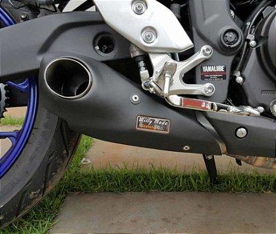Escapamento Esportivo Yamaha R3 Firetong Willy Made