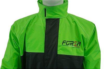 Capa de Chuva Moto FORZA Preto/Verde