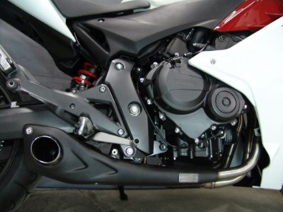 Escapamento Esportivo Honda CBR 600F Willy Made Firetong